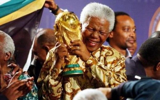 South Africa and Nelson Mandela had high hopes for the World Cup