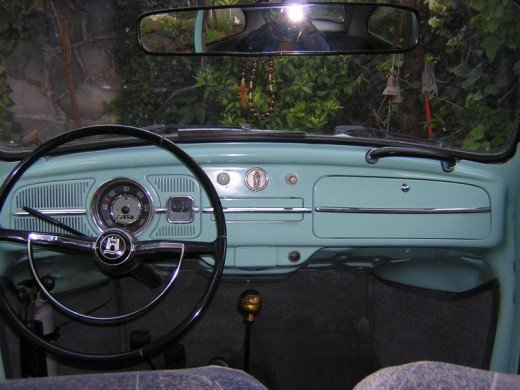 Dashboard of a Mexican 1969 VW Beetle