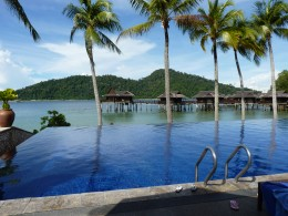 Pangkor Laut Resort Swimming Pool. Photo by Janice