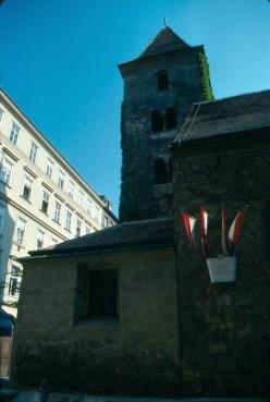 Ruprechtskirche, tradtionally Vienna's oldest church.