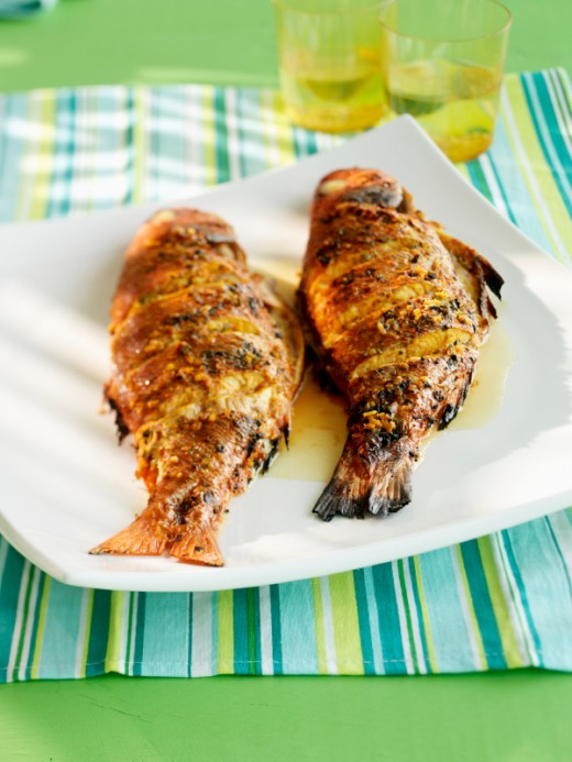 Barbecue fish
