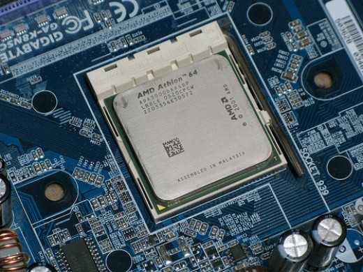 This is an Athlon 64 Processor