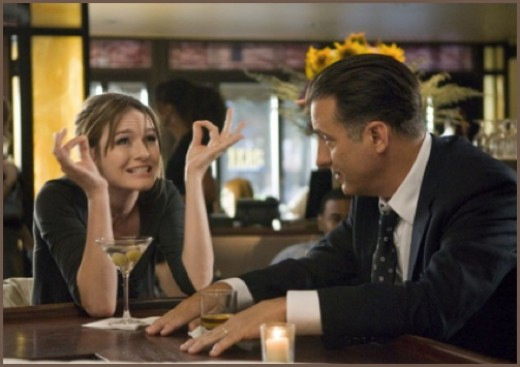"Emily Mortimer and Andy Garcia in ""City Island"""