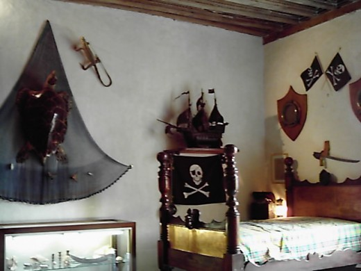 The Pirate's room