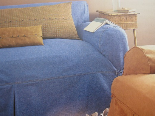 Example of nice slipcovers.