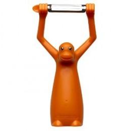 A whimsical peeler.