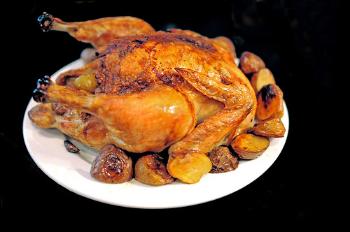 How to roast a chicken photo: svacher @flickr