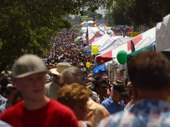 Festivals offer massive traffic and higher booth fees! Courtesy  http://www.pdphoto.org/PictureDetail.php?mat=&pg=8041