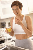 Take your vitamins and calcium supplements to prevent breast cancer!