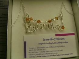 Belinda name pendant