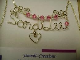 Sandi Lee name pendant