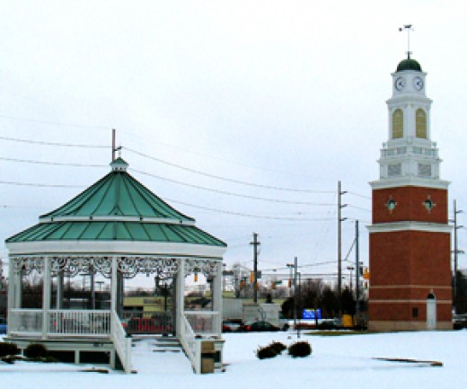 Strongsville's Tower & Gazebo
