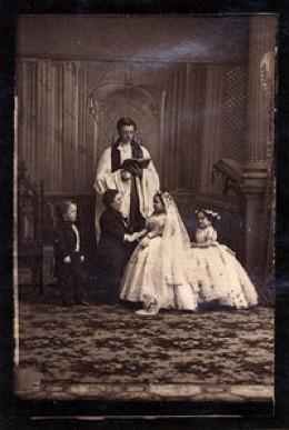 George Nutt, Charles, Lavinia, Minnie