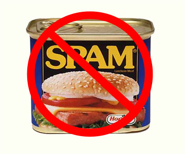Say No To Spamming