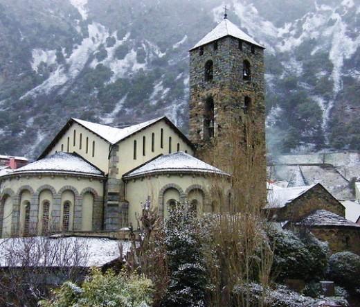 Church of Sant Esteve, Andorra