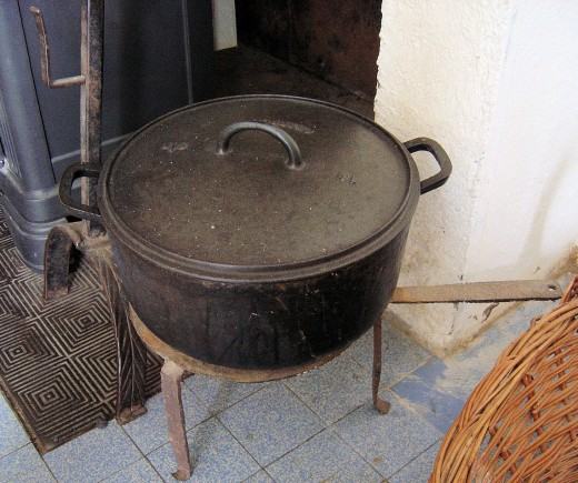 My favourite cooking pot.