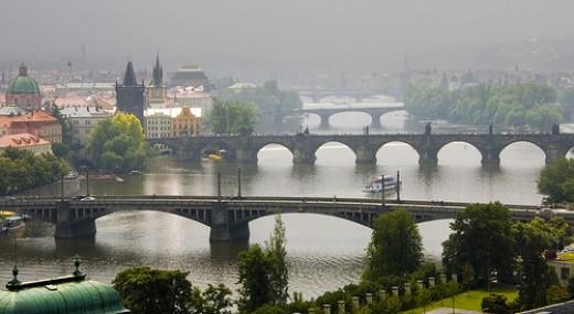 Bridges Over The Vltava River, Prague