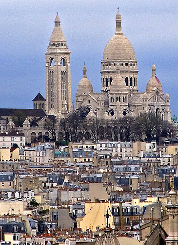 Montmartre and Sacre Coeur, Paris