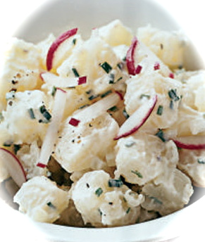 Red Onion and Chive Potato Salad Recipe