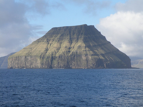 Litla Dimun - The smallest island of the Faroe Islands