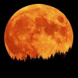 Full moon of October.