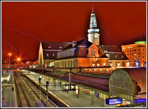 Luxembourg Railway Station