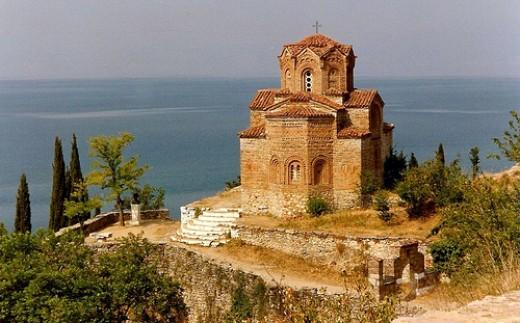 Sveti Jovan Kaneo, Ohrid, Macedonia