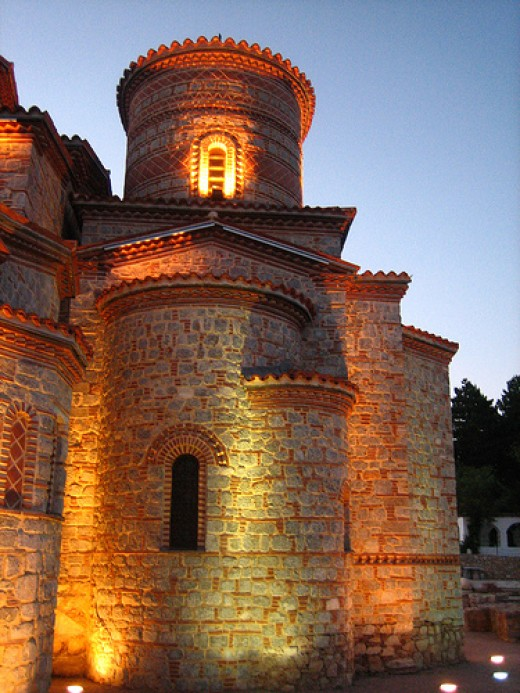 Sveti Pantelejmon Church in Ohrid, Macedonia