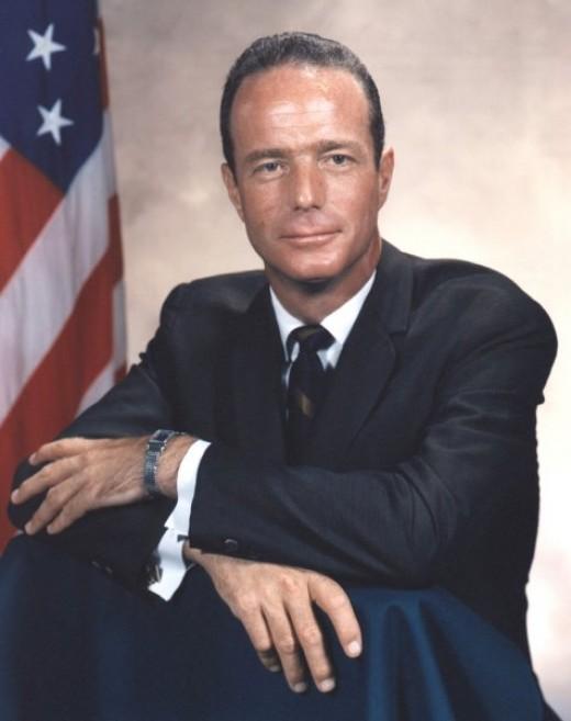 Publicity Photo of Mercury Astronaut Scott Carpenter. Photo courtesy of NASA.