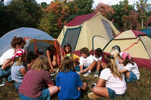Camping at Pocahontas State Parks