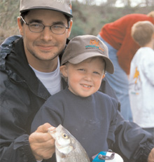 Free fishing in Texas State Parks