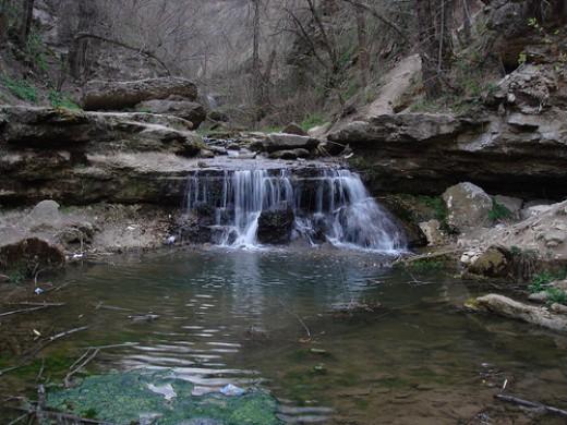 Saharna Waterfalls, Moldova