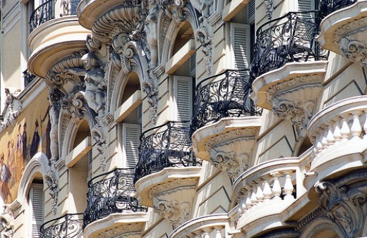 Monaco Hotel Balconies