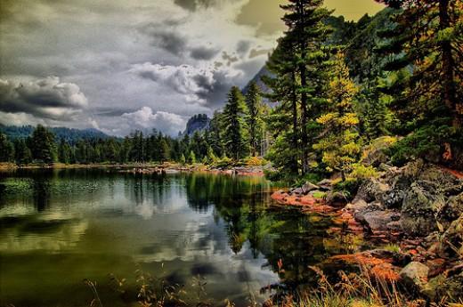 Lake Hrid, Montenegro