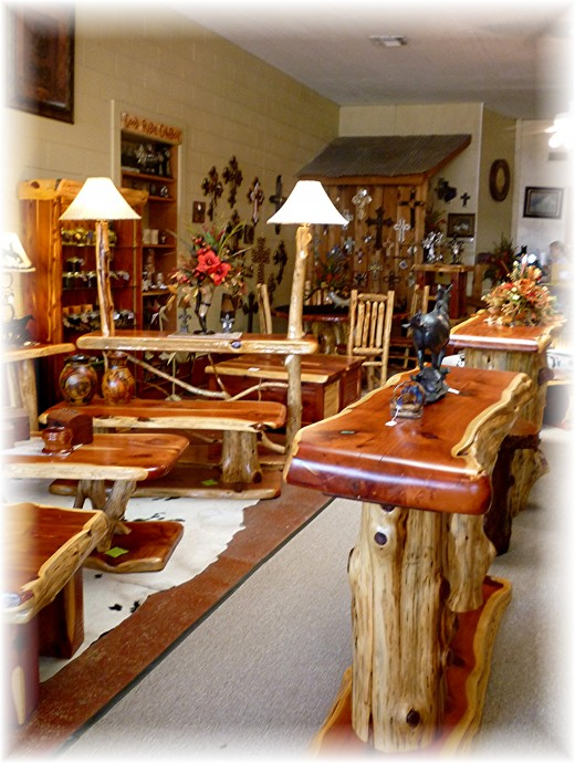Inside of Big Cedar Furniture