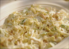 Cheesey Coleslaw Recipe