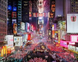 Times Square at New Years Eve, New York