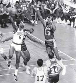 The Lakers came up short against Boston in the 60's
