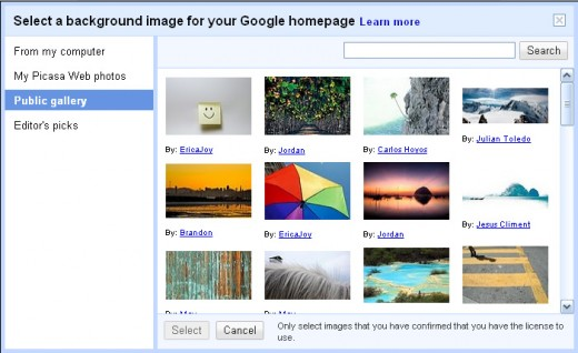 Is it a plea for use of Picasa?
