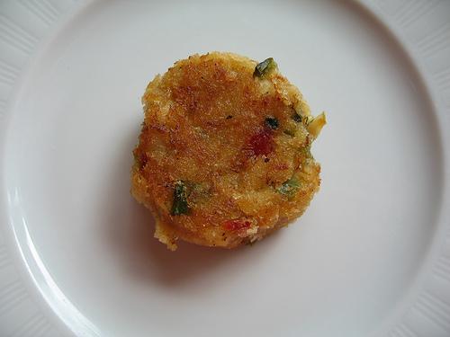 mini crab cake