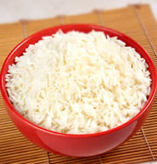 White rice recipe ideas for flavorful side dishes to chicken, beef, fish, and just about anything else!