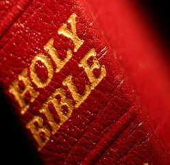 BLESSED ARE THOSE WITH THE RED BIBLES