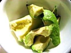 Chopped avocado / Photo by E. A. Wright