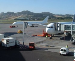 Los Rodeos airport for and from the north of Tenerife in the Canary Islands