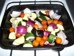 Roasting the Vegetables