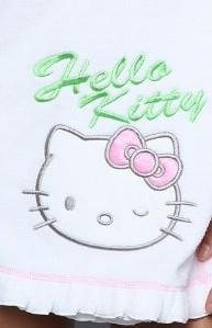 Hello Kitty towel wrap dress