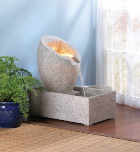 An Interior Water Fountain