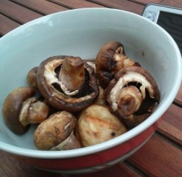 Can't find portabello mushrooms? Try field mushrooms or any other large mushrooms instead.