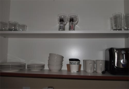 Cups, bowls, and plates.