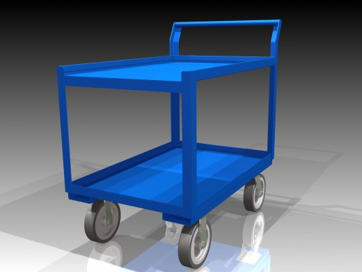 Shelf cart